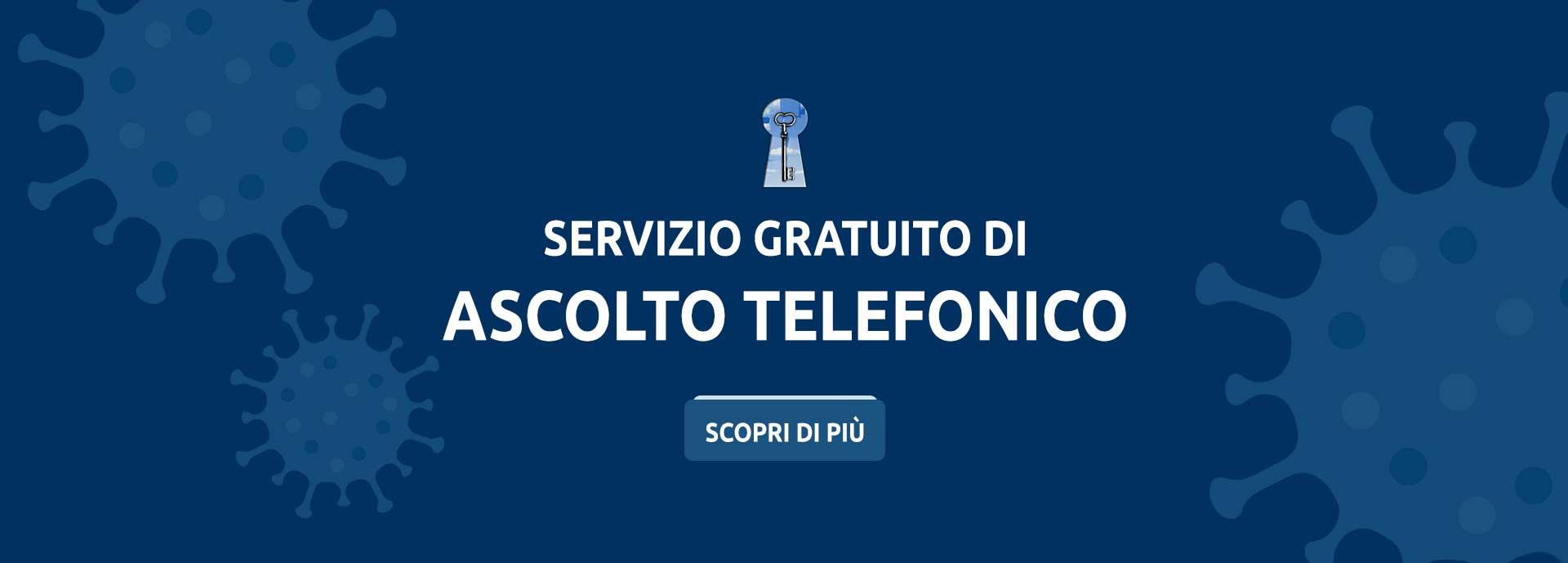 Servizio gratuito di ascolto telefonico